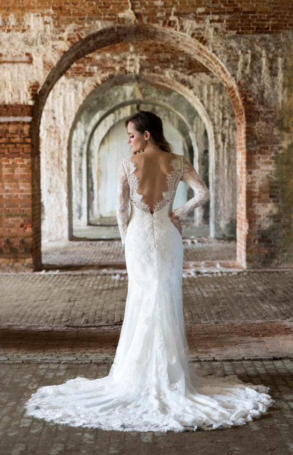 Bride at Fort Morgan